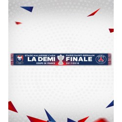 "Echarpe OFFICIELLE ""LA DEMI-FINALE"" Coupe de France 18..."